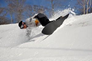 swallowtail powder snowboard niseko ski rental fastfun